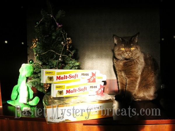 Британский шоколадный кот Bounty Bastet Mystery